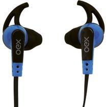 Fone de ouvido intra auricular esportivo oex fn206 - azul -