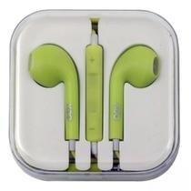 Fone de ouvido intra auricular oex  candy fn204 verde pastel -