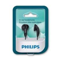Fone De Ouvido Intra Auricular Philips She1360/1350 Preto Original -