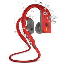Fone de Ouvido JBL Endurance Dive Bluetooth Vermelho MP3 Memória Interna p/ Natação JBLENDURDIVERED -
