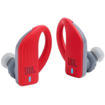 Fone de Ouvido JBL Endurance PEAK Bluetooth Vermelho Esportivo À Prova D'água para Corrida Academia -
