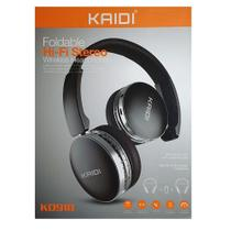 Fone de Ouvido Kaidi Bluetooth Wireless Estéreo HD Ajustável -