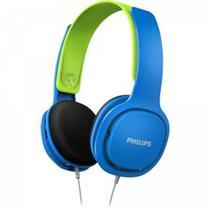 Fone de Ouvido Kids HK2000BL/00 Azul/Verde PHILIPS -