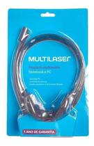 Fone de ouvido microfone básico preto p2 ph002 - Multilaser