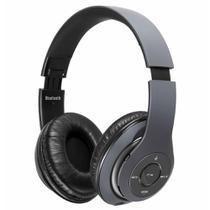Fone de Ouvido Mondial HP-03, Conexão sem Fio, Microfone, Alças Ajustáveis, Wireless Sound, Grafite -