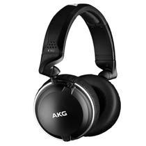 Fone de ouvido Monitor Profissional AKG K182 10Hz-28kHz / 112dB SPL Preto -