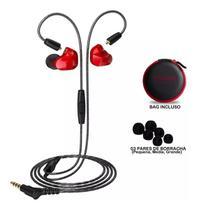 Fone De Ouvido Moxpad In Ear Dual Drive Retorno Palco X9 -
