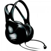 Fone de Ouvido Multimídia com Microfone SHM1900/00 Preto - Philips -