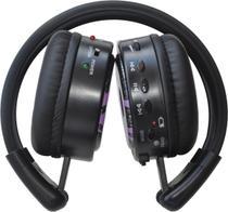 Fone de Ouvido Multimídia Onbongo ONB-M80 com Rádio FM e Slot para Cartão de Memória - Lilás -