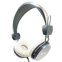 Fone de ouvido mymax estéreo urban sound cinza - m -ht373 -