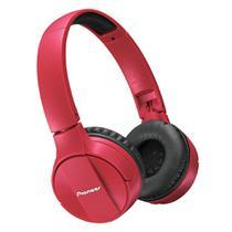 Fone de Ouvido On Ear Pioneer SE-MJ553BT-R Bluetooth Sem fio Vermelho -
