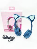 Fone de ouvido orelha de gato lehmox 1022 sem fio -