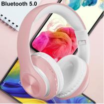 Fone De Ouvido P68 Bluetooth 5.0 Sem Fio Recarregável Hifi Som -