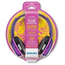 Fone De Ouvido Philips Kids Shk2000bl Rosa -