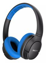 Fone de Ouvido Philips SH402 Bluetooth Azul Preto Sem Fio ActionFit Resistente ao Suor TASH402BL/00 -