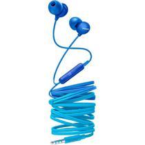 Fone de Ouvido Philips SHE2405 Azul Intra Auricular com Microfone Controle Up Beat SHE2405BL/00 -