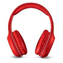 Fone de Ouvido Pop Bluetooth com Microfone Hands Free Earpads Extra Macios Multilaser PH248 Vermelho -