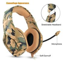 Fone de Ouvido Professional Gaming Headset Onikuma K1-B Cor:Marrom -