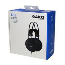 Fone de Ouvido Profissional AKG K52 - AKG K52 - PRETO -