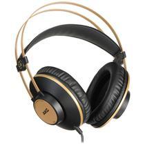 Fone de ouvido profissional akg k92 preto/ dourado -