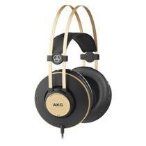 Fone de Ouvido Profissional AKG K92 Studio Headphone Mixagem Masterização e Dispositivos Móveis -