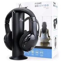 Fone de ouvido sem fio 5 Em 1 Wireless Com Radio FM Knup -