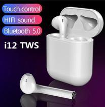Fone de Ouvido Sem Fio Bluetooth 5.0 I12 Tws Touch - Bgxpro