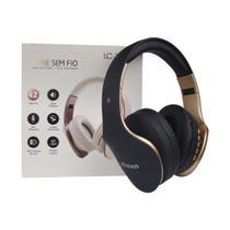 Fone de Ouvido Sem Fio BLUETOOTH de Alta Definição e Fidelidade AUX/SD/6Hrs LC-112BL - Xtrad