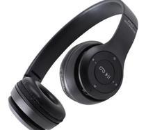 Fone de Ouvido Sem Fio Bluetooth Dobrável P47- Preto   SKU: A52-18-C2 - KETCHUP