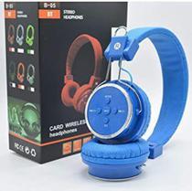 Fone De Ouvido Sem Fio Bluetooth Micro SD FM B05 Headfone - Lehmox -