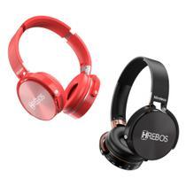 Fone de Ouvido Sem Fio Bluetooth Radio Mp3 da HREBOS HS - 95 -