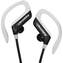 Fone de Ouvido Sem Fio Bluetooth RoadStar RS-110EPB Preto Branco Wireless Headset Com Microfone -