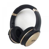 Fone de Ouvido Sem Fio Com Rádio Cartão SD P2 Designer Confortável LC-813 - Xtrad