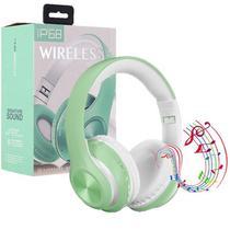 Fone De Ouvido Sem Fio Dobravel Bluetooth 5.0 Verde - Concise Fashion Style