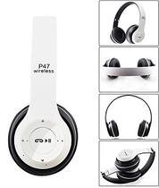 Fone De Ouvido Sem Fio Headphone Bluetooth P47 Recarregável - P47 Wireless