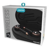 Fone De Ouvido Sem Fio Tws100 - Wireless Kimaster -
