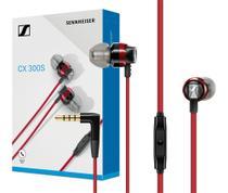 Fone De Ouvido Sennheiser Cx300S Headset, Intra-auricular Vermelho -