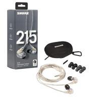 Fone de Ouvido Shure SE215 Original In-Ear Isolamento Acústico -