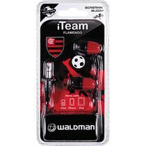 Fone de Ouvido Silicone Waldman SB-10 Flamengo -