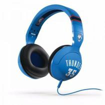 Fone de Ouvido Skullcandy Hesh NBA Thunder Kevin Durant Headphone 120mWatts Azul e Branco -