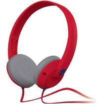 Fone de Ouvido Skullcandy Uprock Headphone 80mWatts Vermelho BFO-109 -