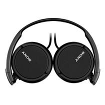 Fone de Ouvido Sony MDR-ZX110 Headphone Dobrável Preto -