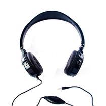 Fone de Ouvido Stereo Preto c/ Microfone Headset Logic - LS 2000 MIC -