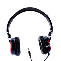 Fone de Ouvido Stereo Vermelho Headphone Logic - LS 2000 RD -