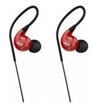 Fone de Ouvido Vokal E40 In Ear Vermelha -