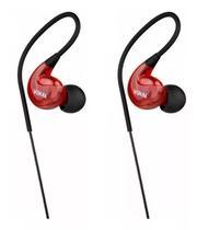 Fone de ouvido vokal e40 in ear vermelho -