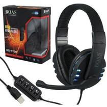 Fone Game Headset PC USB Microfone - Boas