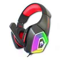 Fone Gamer Headphone Ouvido Com Led RGB Surround Bass - INFOKIT