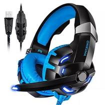 Fone Gamer Headset Led Onikuma Usb 7.1 Profissional Pc K2 Azul -
