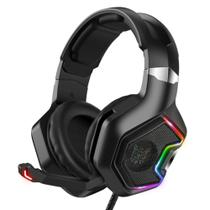 Fone Gamer Headset Profissional Onikuma K10 Pro Rgb Preto -